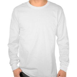 Das STUMPF weiße lange Hülsen-T-Stück Tshirts