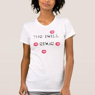 Das stumpfe Rand-Damen-Shirt