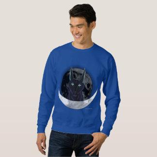 Das Sweatshirt der Anubis Mond-Männer