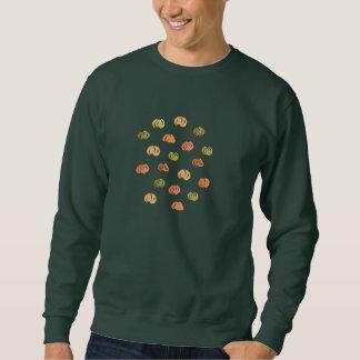 Das Sweatshirt der Männer mit Kürbisen