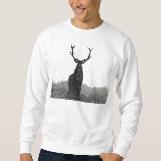 Das Sweatshirt der mutigen Elch-Hirsch-Männer