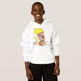 Das Sweatshirt des Donner-Ritter-HEROISCHES Kindes