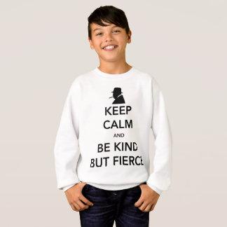 Das Sweatshirt des heftigen Jungen