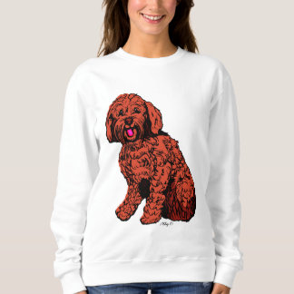 Das Sweatshirt Labradoodle Frauen
