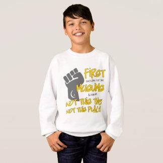 Das Sweatshirt nicht dieses Platz-Jungen