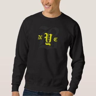 Das Sweatshirt-Schwarzes/Gelb der verwirrten Sweatshirt