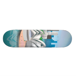 Das Sydney-Opernhaus Skateboarddeck