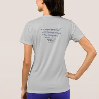 Das T-Shirt Calpeper® Frauen (Franklin 01)