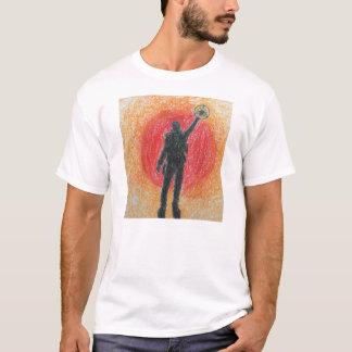 Das T-Shirt der Männer mit Logo durch Peter