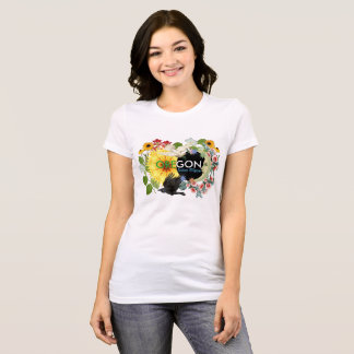 Das T-Shirt der Oregon-Sonnenfinsternis-Frauen