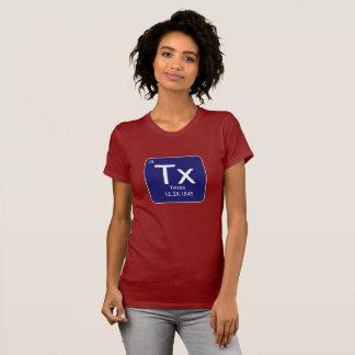Das T-Shirt der Texas-Element-Frauen