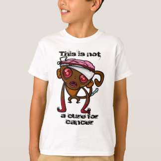 Das T-Shirt des experimentiertes Affe-Kindes