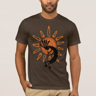 Das T-Shirt Männer SüdwestenKokopelli WüsteSun