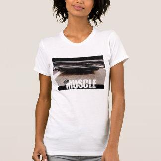 Das T-Stück 1968 Muskel-Frauen T-Shirt