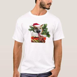Das T-Stück der Feiertagcorgi-Männer T-Shirt