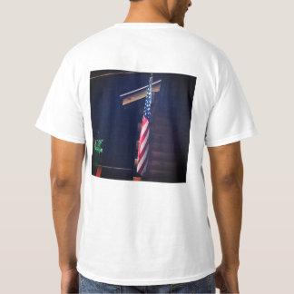 Das T-Stück der Flagge-Männer T-Shirt