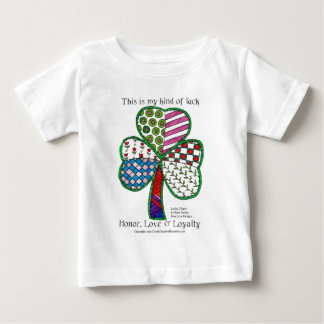Das T-Stück der glückliche Charme-Kinder Baby T-shirt