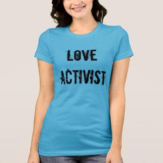 Das T-Stück der Liebe-Aktivisten-Frauen T-Shirt