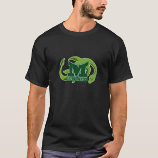 Das T-Stück der Loch- Nessmonster-Männer T-Shirt