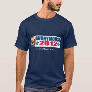Das T-Stück der Männer der Kampagnen-2012 T-Shirt