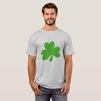 Das T-Stück der Männer mit Kleeblatt T-Shirt