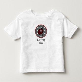 Das T-Stück der Marienkäfer-Kinder T-Shirts