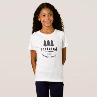 Das T-Stück des Portlandpararescue-Mädchens T-Shirt