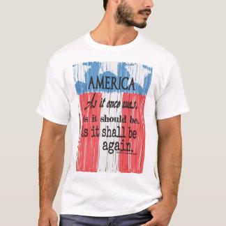 """Das T-Stück """"ein amerikanischer Toast-"""" der Männer T-Shirt"""