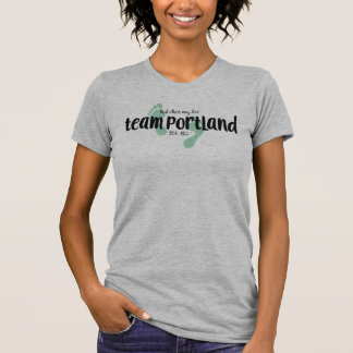 Das T-Stück Team-Portland-Frauen T-Shirt