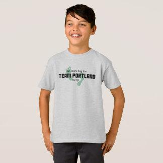 Das T-Stück Team-Portland-Kindes T-Shirt
