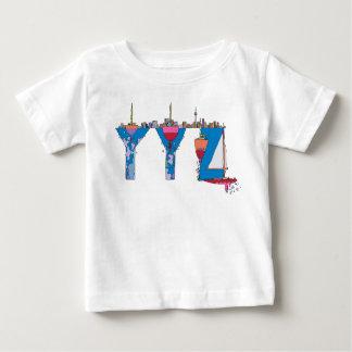 Das T-Stück | TORONTO, CA (YYZ) des Babys Baby T-shirt