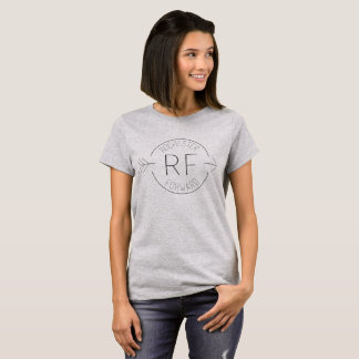 Das T-Stück vorderer grundlegender Frauen T-Shirt