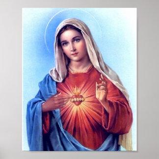Das tadellose Herz von Mary-Plakat Poster