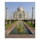 Das Taj Mahal, Agra, Uttar Pradesh, Indien, Poster