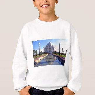 Das Taj Mahal in Agra Indien Sweatshirt