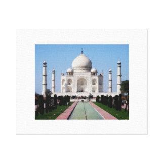 Das Taj Mahal Leinwanddruck