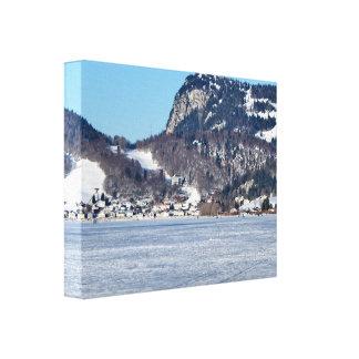 Das Tal von Joux im Bezirk von Waadt Leinwanddruck