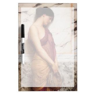 Das tambourine-Mädchen durch John William Godward Memo Boards