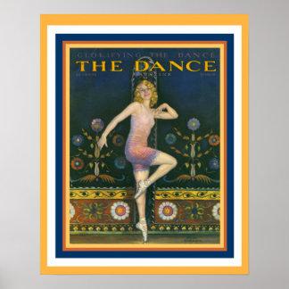 Das Tanz-Zeitschriftenzwanziger jahre Poster