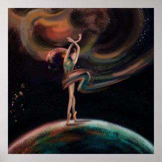 Das Tanzenuniversum Poster