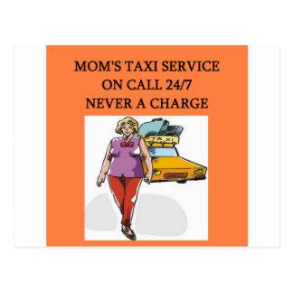 das Taxi der Mammas Postkarte