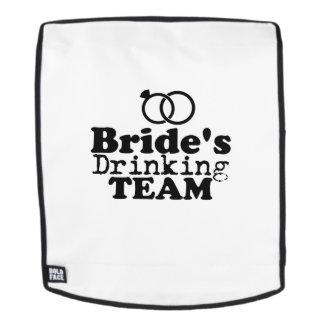 Das Team-Bräutigam Fuuny Party der Braut Rucksack