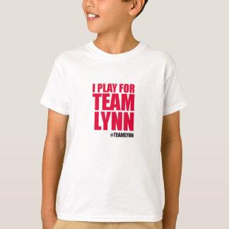 DAS TEAM-LYNN-T-Stück des Kindes T-Shirt