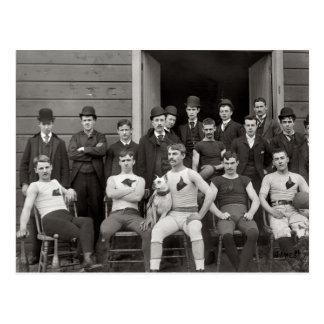 Das Team Postkarte