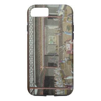 Das Tee-Depot (Gouache auf Seide) iPhone 8/7 Hülle