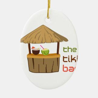 Das Tiki Bar Keramik Ornament