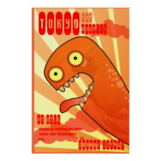 Das Tokyo-Monster Poster
