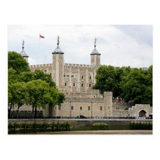 Das Tor der Verräter, der Tower von London Postkarte