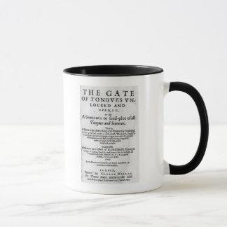 Das Tor der Zungen Unlocked', 1631 Tasse