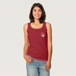 Das Trägershirt der Frauen mit kleinem weißem Logo Tank Top